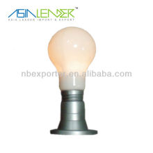 Bulb shape battery led touch light