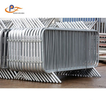 High Efficiency Galvanized PVC Coated Mobile Barrier /Concert Crowd Control Barrier