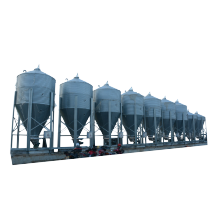 High-performance electric motor driver feed silo for pig farm