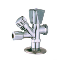 J7006 brass angle valve chrome nickel plated