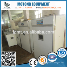Incubadora automática del huevo de las aves de corral de la fuente del fabricante de China