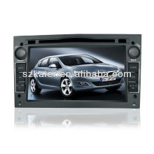 Système de navigation de voiture de contrôle intelligent pour OPEL Astra / Antara / Zafira / Vectra / Astra H avec 3G / Bluetooth / IPOD / RMVB / DVD / RDS / MAP