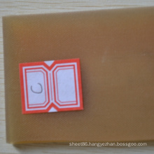 Cloth Impressed Silicone Rubber Sheet with High Quality