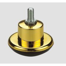 Móveis Caster Carpet Wheel Thread Imitation Gold