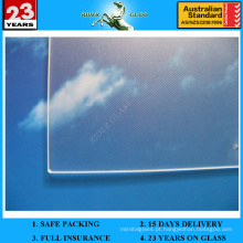 Vidro solar de 3,2-4 mm com AS / NZS 2208