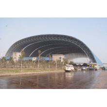 Hangar de stockage de charbon Arch de structure en acier