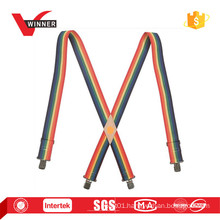 Rainbow suspender multi-color