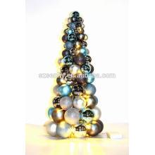Небьющиеся Пластиковые батарея эксплуатируется на открытом воздухе Рождественская елка мяч