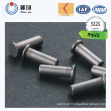 Rivet en acier inoxydable fabriqué en Chine avec design à la mode