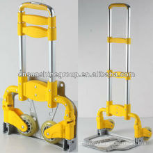 Aluminum folding luggage cart,iron foldable trolley