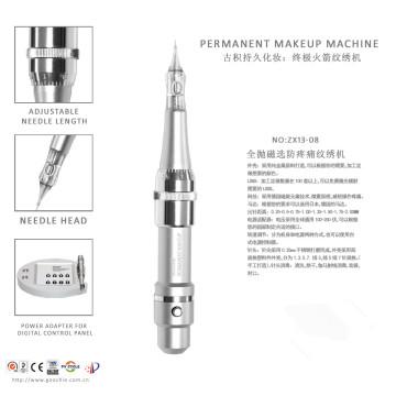 Máquina de la pluma del tatuaje de Digitaces del maquillaje permanente más nuevo de Rocket (ZX1352)