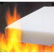Matériau filtrant ignifuge / ouate ignifuge