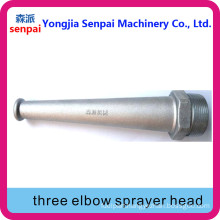 Aluminum Alloy Three Elbow Sprayer Head/Head of Three Elbow Sprayer