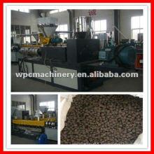 WPC (PE/PP with wood fiber) granulator machine