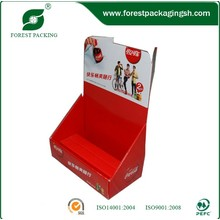 Настроенный дисплейный ящик из гофрированной бумаги