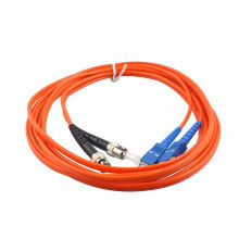 mm duplex 2mm sfp amp fiber optical patch cord, sc/upc to fc/upc optical patch cord
