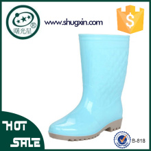 chaussures de pluie de jardin en caoutchouc chaussures de pluie en plastique en caoutchouc