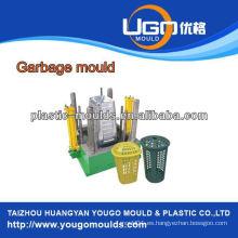 Industria de basura plástica del molde del molde de la inyección, molde plástico de la cesta de la basura