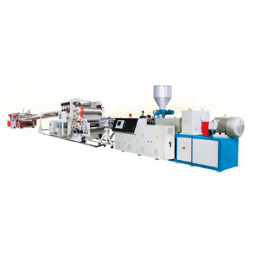 PVC wall panel making machine