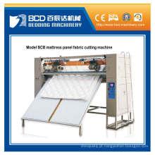 Máquina de corte do modelo colchão Bcb painel tecido