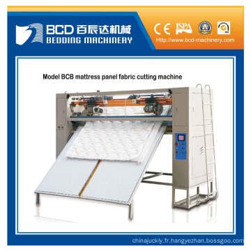 Machine de découpage modèle matelas Bcb panneau tissu