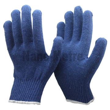 NMSAFETY bleu coton gants de main prix des gants en coton stretch