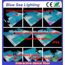 Disco dmx removable outdoor make lighted dance floor