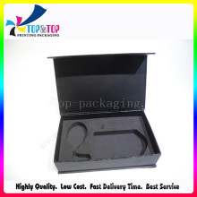 High-End Custom Cosmetics Cardboard Packaging Box with EVA Foam Insert
