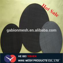 Malla de alambre negro / negro soldada cerca de alambre panel de malla fábrica real
