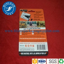 Customized Slide Paper Card Packaging Product