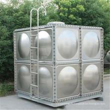 Réservoir de stockage d'eau en acier galvanisé flexible d'approvisionnement d'eau d'approvisionnement direct d'usine