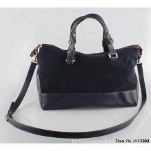 Women Fashion Handbag High Quality PU Tote Bag (h13303)