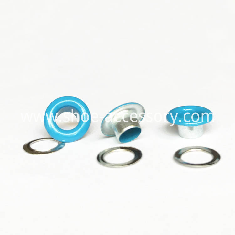 Blue Color Round Grommet Eyelets