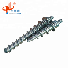Cold Feeding Rubber Screw Barrel for PVC Wire Extrusion