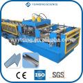 Проходной CE и ISO YTSING-YD-0843 CZ Канальный взаимозаменяемый Профилегибочный станок Пзготовителей