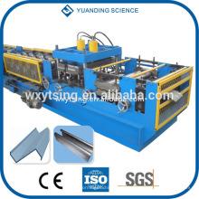 Passiert CE und ISO YTSING-YD-0761 CZ austauschbare Pfettenmaschine, CZ Pfetten-Walzenformmaschine