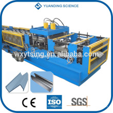 Passado CE e ISO YTSING-YD-0761 CZ máquina intercambiável purlin, CZ rolo purlin formando máquina