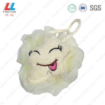Lovely cartoon animal mesh bath ball
