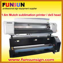 Large Format Mutoh Sublimation Printer for Textile Printing with Dx5 Head
