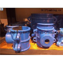 Accesorios de tubería de plástico de alta calidad y abrazadera de sillín