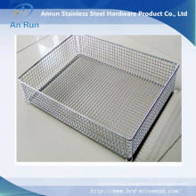 Wire Mesh Storage Box Metal Basket