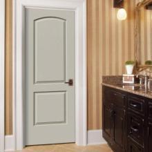 China pre hung dooreyebrow top prehung doorpre hung wood doors primed molded wooden interior door planetlyrics Choice Image