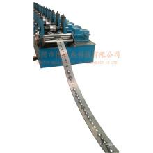 Bandeja de cabos galvanizados Suporte Ângulo Ferro Perfurado Roll formando máquina de produção Tailândia