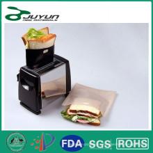 Teflon Toasty Bags 4pk REUTILIZACIÓN DE ALIMENTOS SAFE 300X Use tostadora para cocinar sus bocadillos