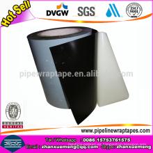 Cinta de 3 capas de cinta de goma de butilo para la tubería de acero