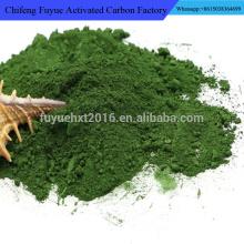 Pigmentos naturais ecológicos Óxido de cromo em pó verde