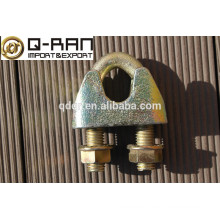 Clips de cuerda de alambre maleable DIN 1142