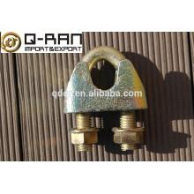 Clipes de cabo de aço maleável DIN 1142