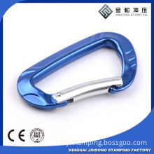 Fashion High Quality Metal aluminium Carabiner With Eyelet For Wholesale