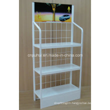 3 Tier Floor Standing Lubricant Display Rack (PHY3006)